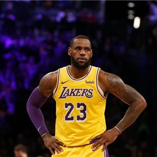 LeBron James, Los Angeles Lakers.