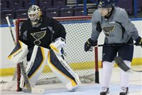 Tréning St Louis Blues.