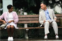 Tom Hanks vo filme Forest Gump